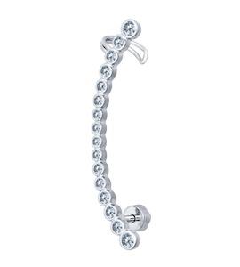 Кафф из серебра с фианитами 94170043