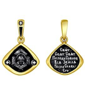 Иконка из золочёного серебра 95030130