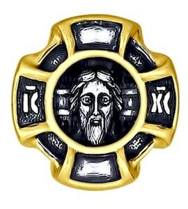 Иконка из золочёного серебра 95030135