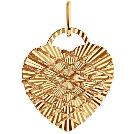 Подвеска из золота 035940