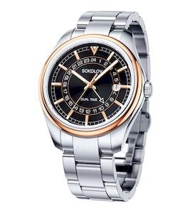 Мужские часы из золота и стали 157.01.71.000.03.01.3