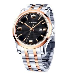 Мужские стальные часы 301.76.00.000.05.02.3