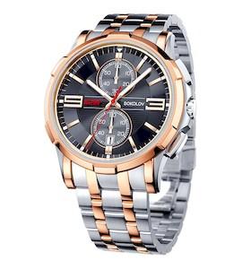 Мужские стальные часы 302.76.00.000.04.02.3