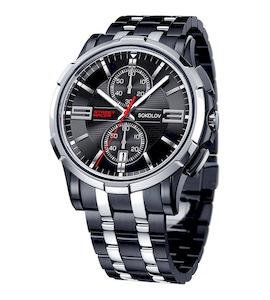Мужские стальные часы 302.77.00.000.02.03.3