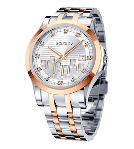 Женские стальные часы 303.76.00.000.05.02.2