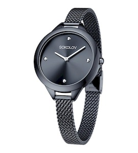Женские стальные часы 306.75.00.000.04.03.2