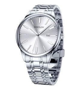 Мужские стальные часы 313.71.00.000.01.01.3
