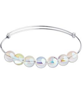 Браслет из серебра с кристаллами Swarovski 94050686