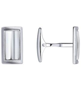 Запонки из серебра 94160058