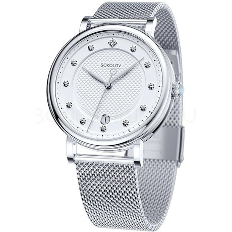 Женские стальные часы 318.71.00.000.04.01.2