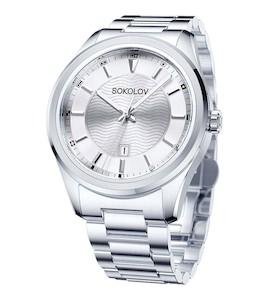 Мужские стальные часы 319.71.00.000.01.01.3