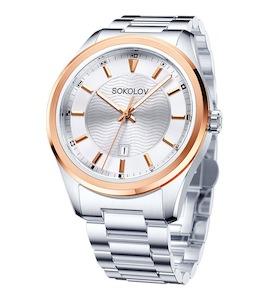 Мужские стальные часы 319.76.00.000.04.01.3