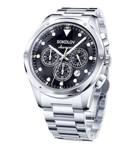 Мужские стальные часы 320.71.00.000.02.01.3