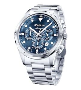 Мужские стальные часы 320.71.00.000.03.01.3
