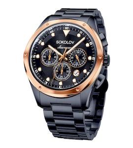 Мужские стальные часы 320.80.00.000.08.03.3