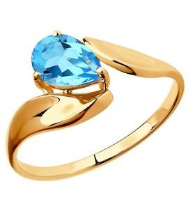 Кольцо из золота с топазом 37714866