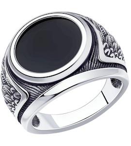 Кольцо из серебра с наношпинелью 95010175