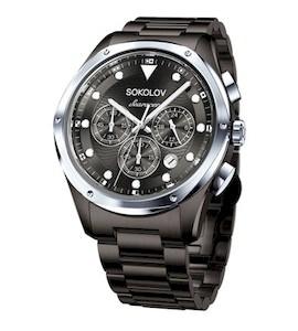 Мужские стальные часы 320.81.00.000.06.02.3
