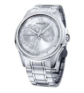 Мужские стальные часы 340.71.00.000.01.01.3