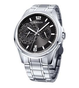 Мужские стальные часы 340.71.00.000.02.01.3
