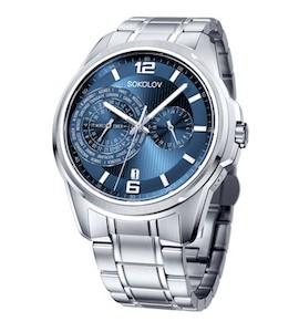 Мужские стальные часы 340.71.00.000.03.01.3