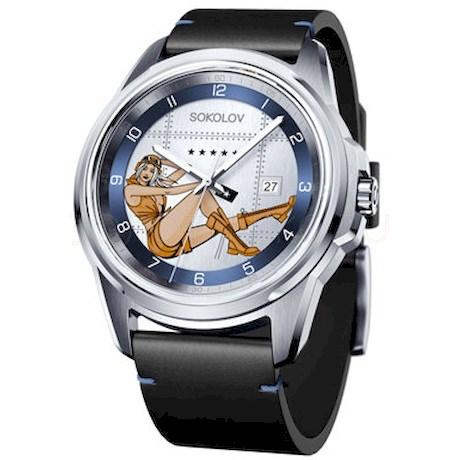Мужские стальные часы 341.71.00.000.01.01.3