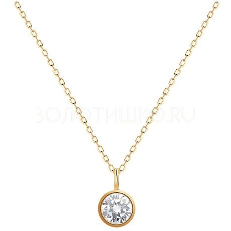 Колье из золота с бриллиантом 9070056-36
