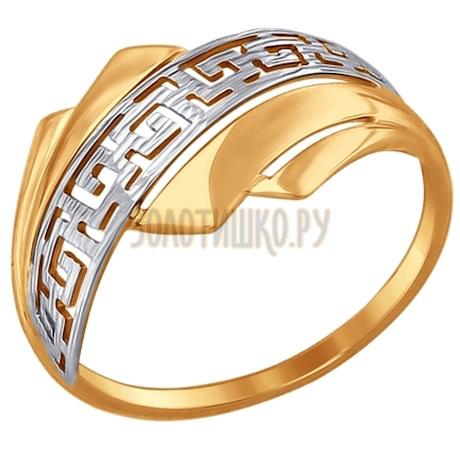 Кольцо из золота 017485
