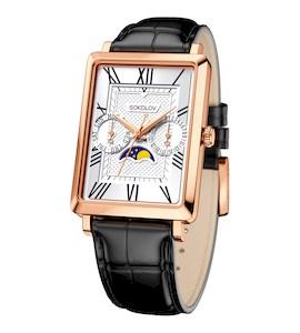 Мужские золотые часы 233.01.00.000.01.01.3