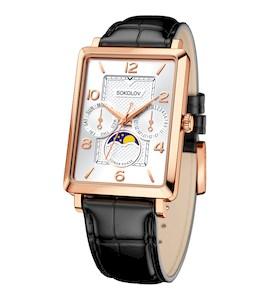 Мужские золотые часы 233.01.00.000.05.01.3