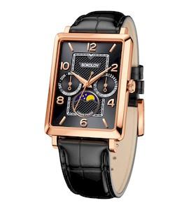 Мужские золотые часы 233.01.00.000.06.01.3