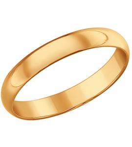 Венчальное кольцо из серебра 93110001