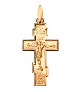 Крест из золочёного серебра 93120018