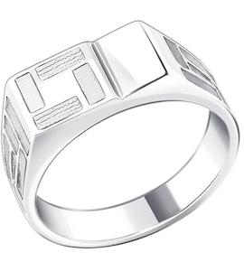Печатка из серебра 94010456