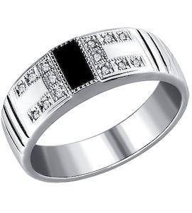 Мужское кольцо из серебра 94010937