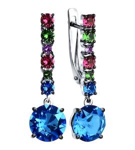 Cерьги с кристаллами Swarovski 94022531