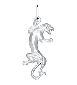 Серебряная подвеска «Пантера» 94030029