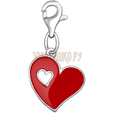 Подвеска на браслет в форме сердца 94030711