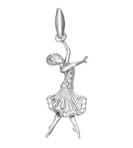 Серебряная подвеска «Балет» 94031156