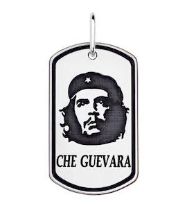 Кулон «Че Гевара» из серебра 95030113