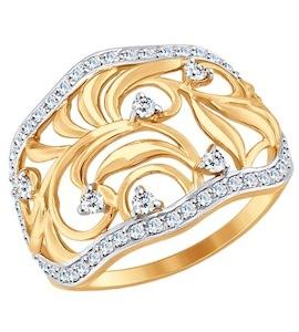 Золотое кольцо 017556