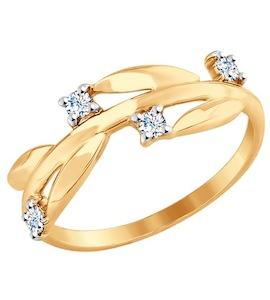 Золотое кольцо 017605