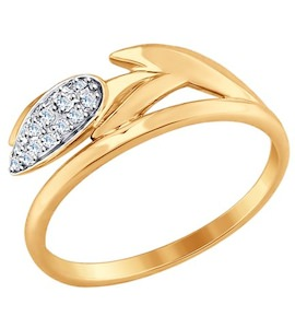 Золотое кольцо 017606