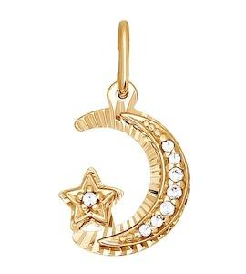 Золотая мусульманская подвеска 033096