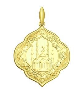 Золотая подвеска 034828-2