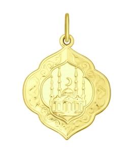 Золотая подвеска 034842-2