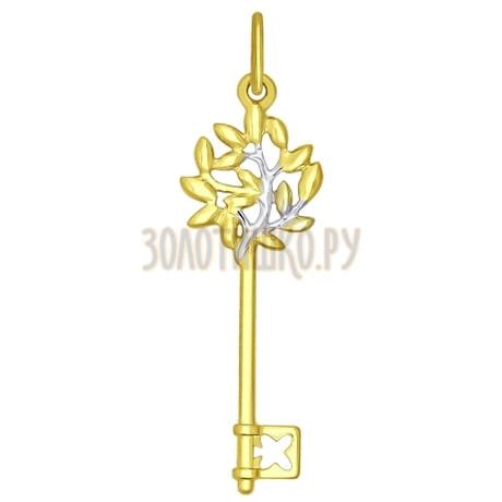 Золотая подвеска 035004-2