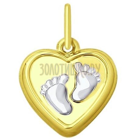 Золотая подвеска 035272-2