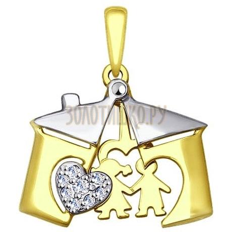 Золотая подвеска 035288-2