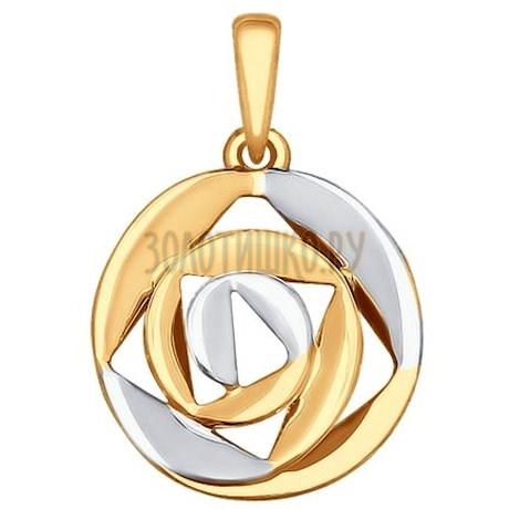 Золотая подвеска 035292